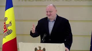 Брифинг для прессы Председателя парламентской комиссии по юридическим вопросам Василия Боли