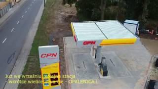 Nowa stacja benzynowa w Opalenicy - CPN Yello Karcher 24h