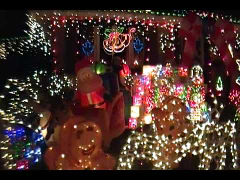 Christmas Lights from London Ontario 2011 - YouTube