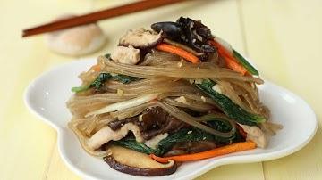 잡채 황금레시피 : Glass noodles stir-fried with vegetables [밥타임]