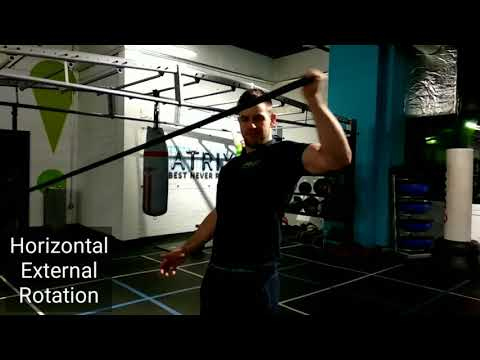 Resistance Band Horizontal External Rotation