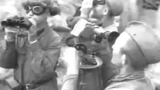 """Еженедельный """"Союзкиножурнал"""" № 69 от 19 июля 1941 """"Громить озверелый фашизм"""" война 1941 - 1945"""