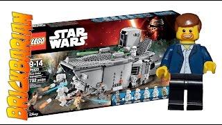 Lego Investing First Order Transporter 75103