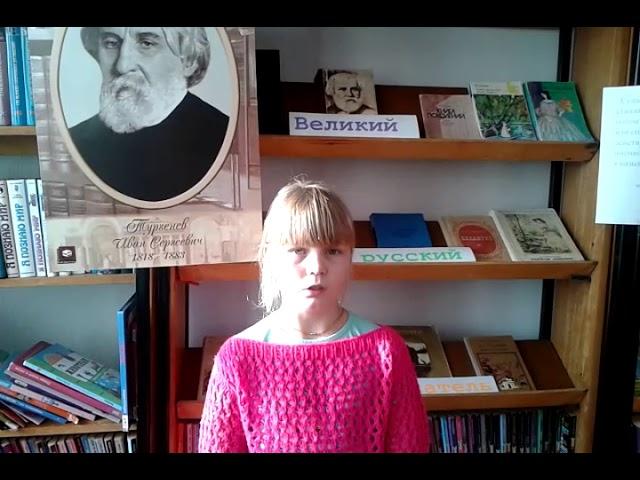 Изображение предпросмотра прочтения – ЕкатеринаШалыгина читает произведение «Гуляют тучи золотые» И.С.Тургенева