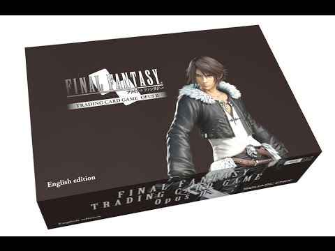 Final Fantasy Trading Card Game Opus II Booster Box 01