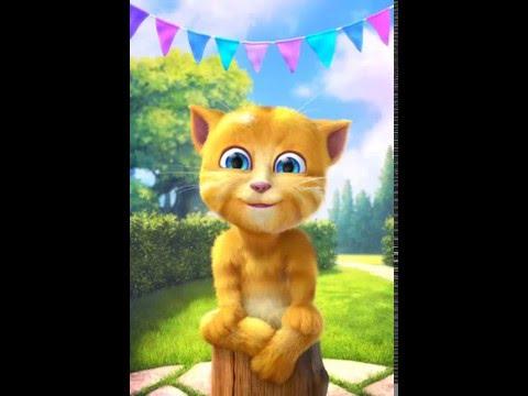 Ginger Cat Sings Wheels on the Bus Childrens Nursery Rhymes Ba Songs