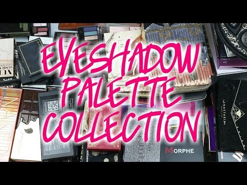 Eyeshadow Palette Collection | 2018