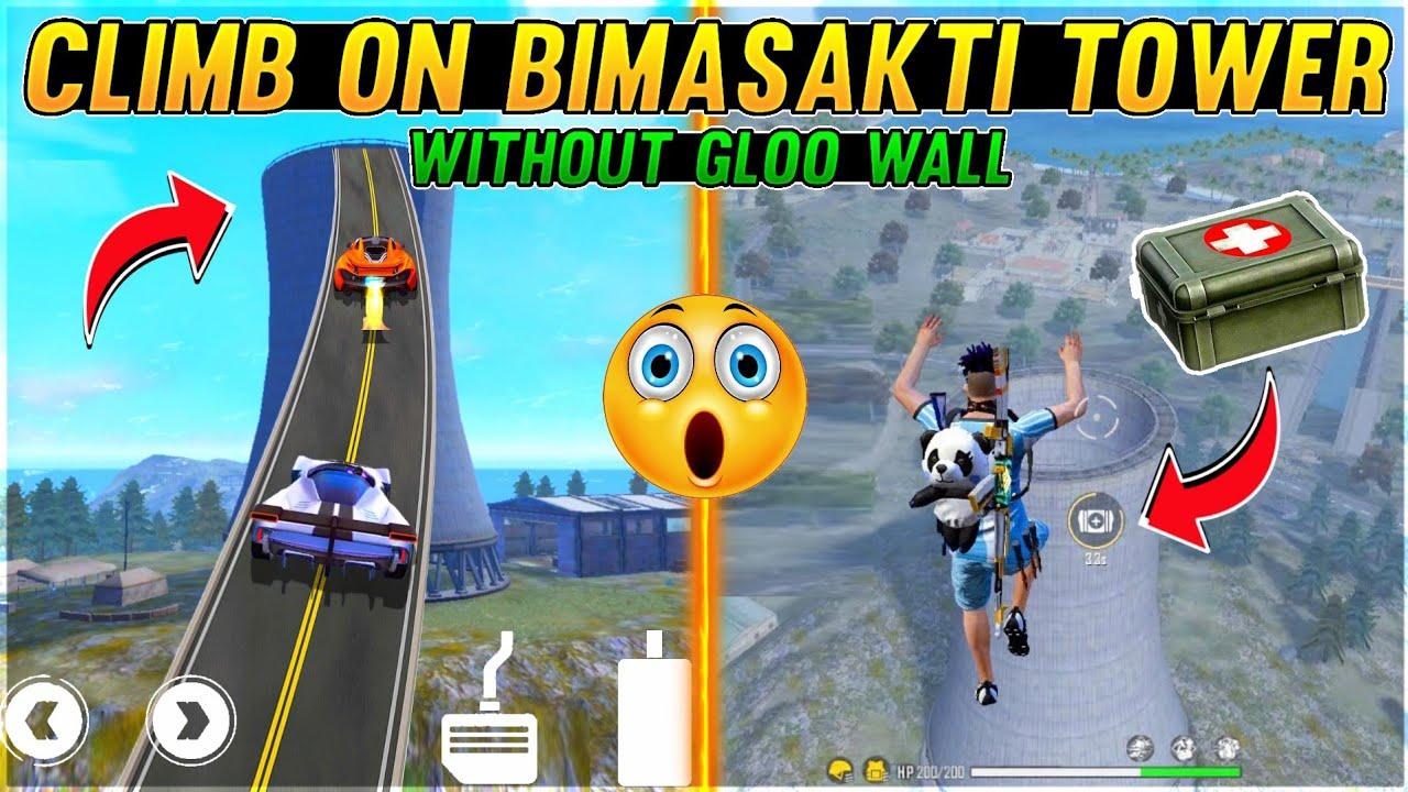 Flying Medikit Trick Like Hacker & Climb On Bimasakti Tower With Guns Top Tricks - Garena Free Fire
