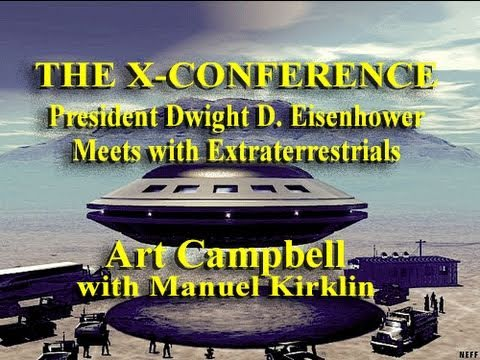 President Eisenhower's Secret Meeting with ETs in 1955 - The Real Story