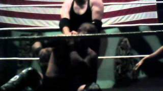 NWA Battlezone 4/9/11 Psycho and Damien Storm vs. Chris and Eric Black