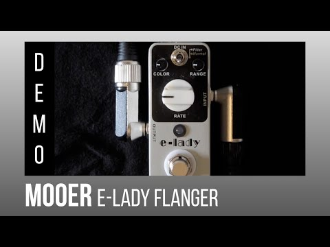MOOER E-Lady Analog Flanger + Fender Telecaster 1974