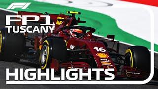 2020 Tuscan Grand Prix: FP1 Highlights