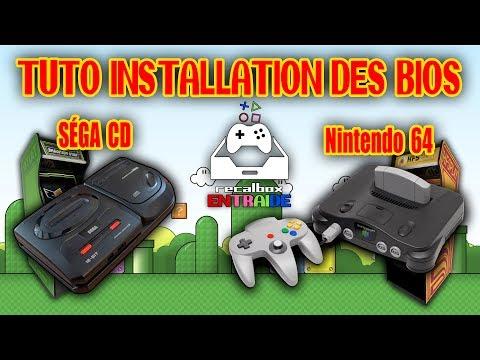 RECALBOX   TUTO FR   Installer la Nintendo 64 et la Méga CD