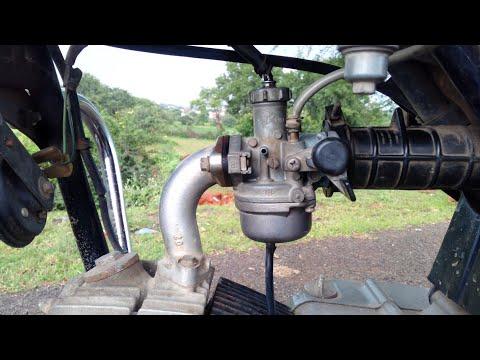 Carburetor cleaning and mileage adjusting