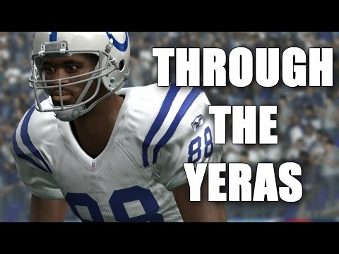 Marvin Harrison Through The Years - Madden 97 - Madden 2010