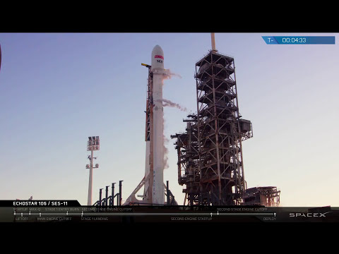 Echostar 105 / SES-11 Launch Webcast