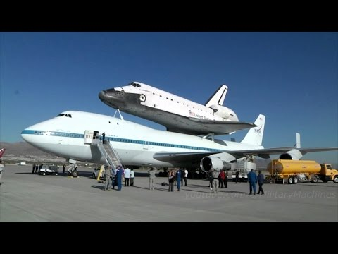 Space Documentary   NASA Shuttle Carrier Aircraft Arrives at Kennedy Space Center