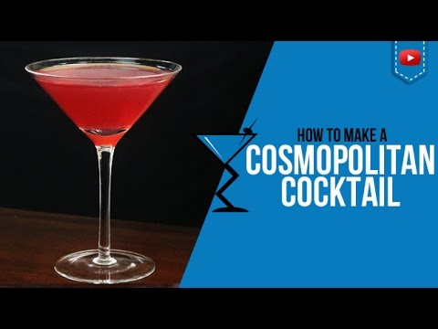 Cosmopolitan Cocktail - How to make a Cosmopolitan Cocktail Recipe by Drink Lab (Popular)