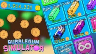 How To Get A Lot Of Coins On Roblox Bubble Gum Simulator
