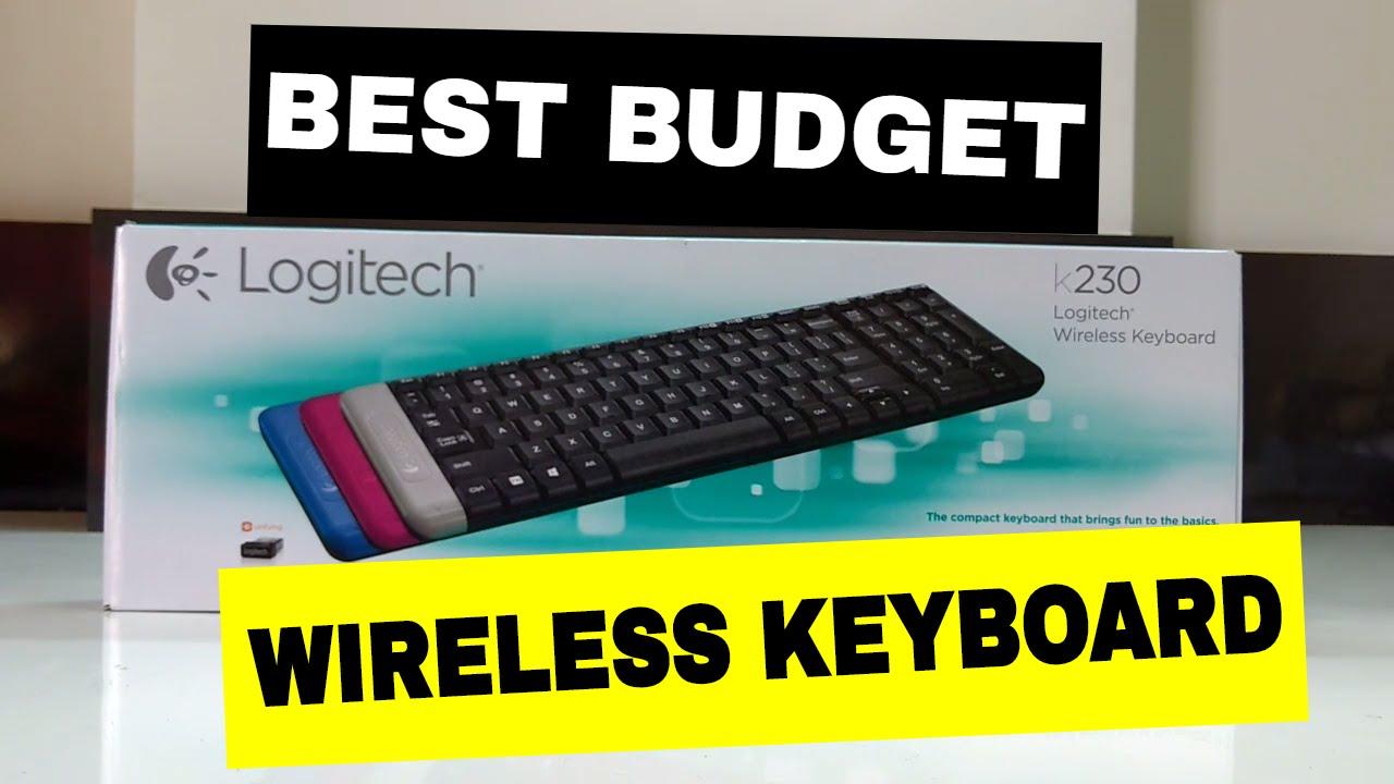 logitech k230 wireless keyboard unboxing best budget keyboard youtube. Black Bedroom Furniture Sets. Home Design Ideas