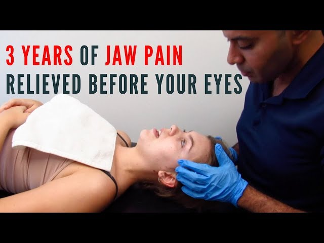 Unheard of 3 Years of Jaw Pain Relieved Before Your Eyes! (REAL TREATMENT)
