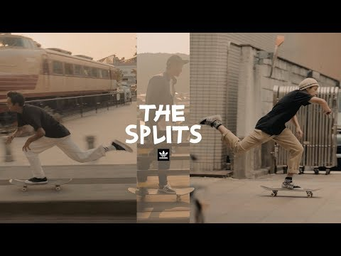The Splits /// adidas Skateboarding Japan