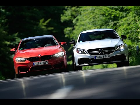 2016 Bmw M5 >> BMW M4 Competition vs. Mercedes-AMG C 63 S Coupé | 0-100 km/h | sport auto - YouTube