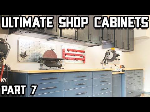 How to Build Ultimate Shop Cabinets - Part 7!