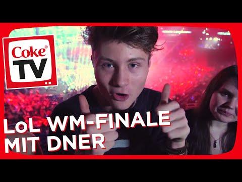 Honeyball, Tyraphine und Dner beim League of Legends WM-Finale | #CokeTVMoment