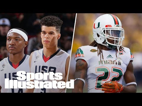 NBA Draft Top 4 Prospects, Miami Hurricanes Recruiting Update | SI NOW | Sports Illustrated