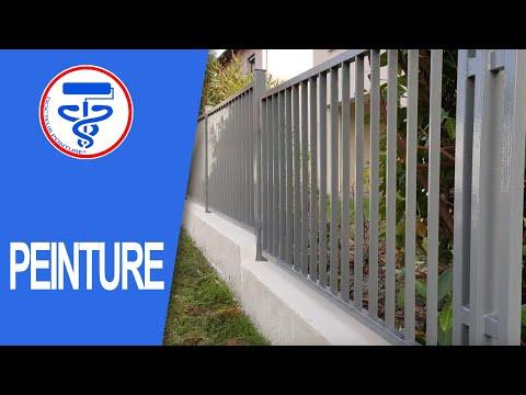 Peindre Une Clôture Complète Partie 3 Peindre Le Muret Youtube