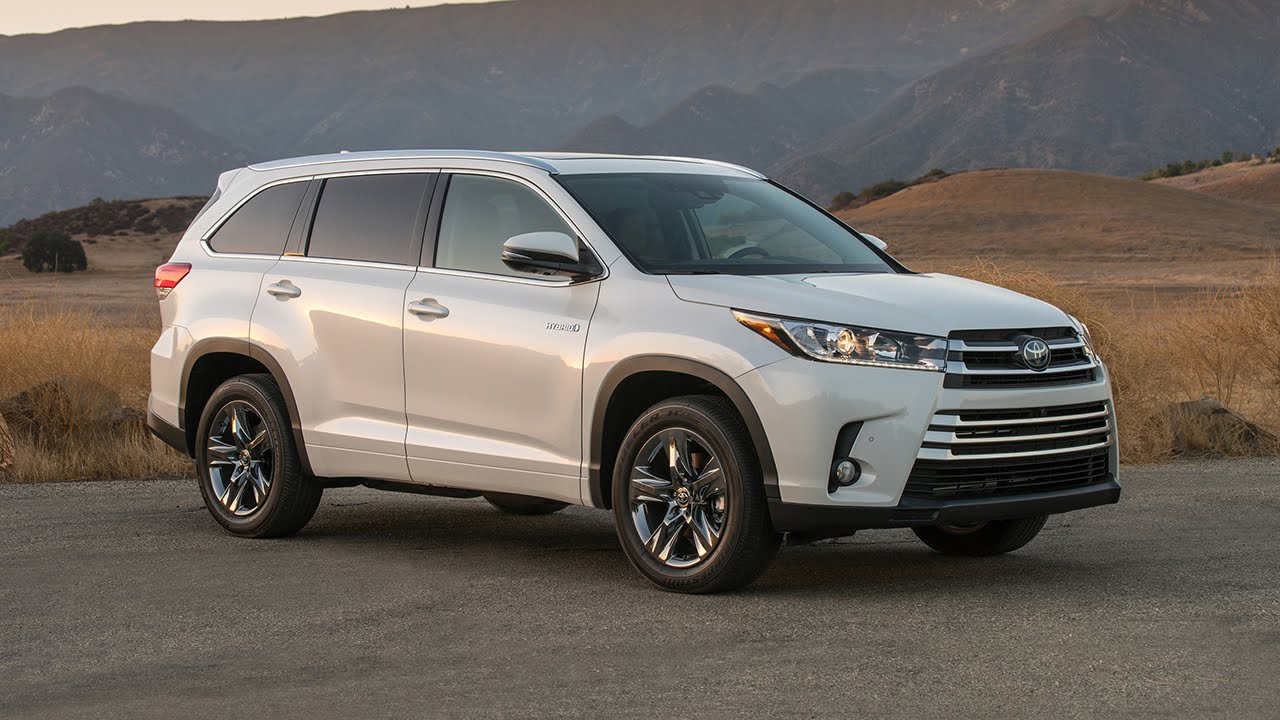 2017 Toyota Highlander Limited Platinum Interior Exterior Performance Design Review