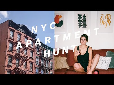 MY NYC APARTMENT HUNT! How to Find an Apartment in NYC