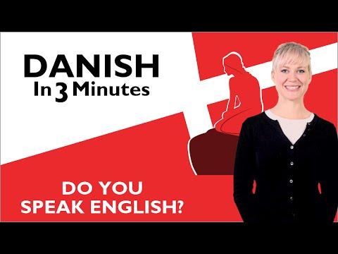 Tiếng Đan Mạch bài 4