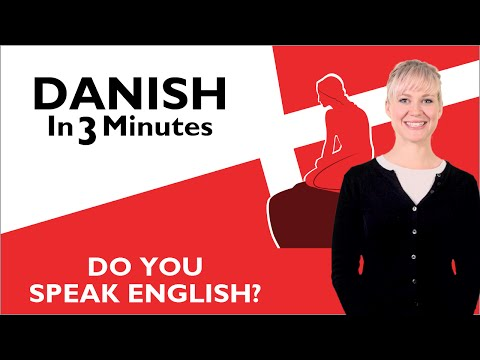 Learn Danish - Do You Speak English?