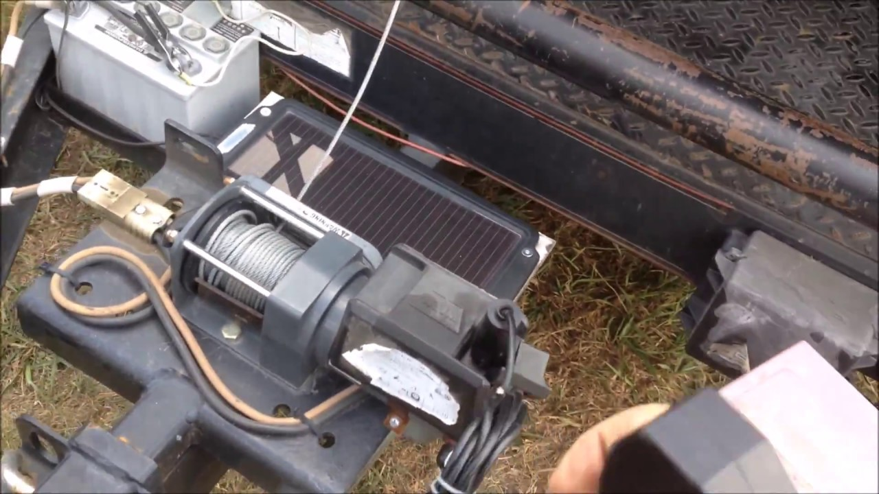 2000 warn winch trailer mount shoutout to doublewide6 [ 1280 x 720 Pixel ]