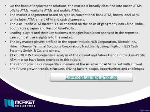 Asia-Pacific ATM Market - Opportunities and Forecast, 2014 - 2020