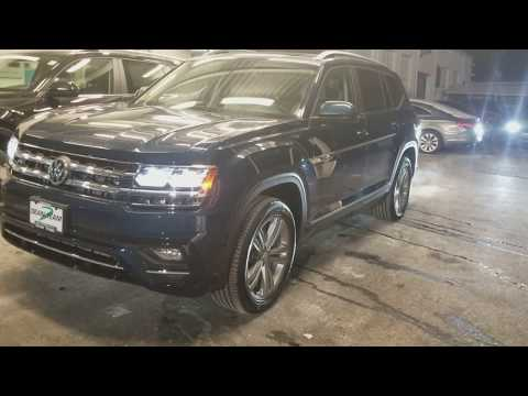 2018 VW Atlas SEL w 4Motion and R-Line package