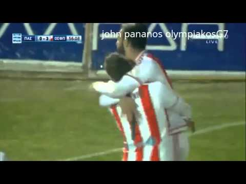 pas gianina olympiakos 0-3 /all goals /31/1/2016