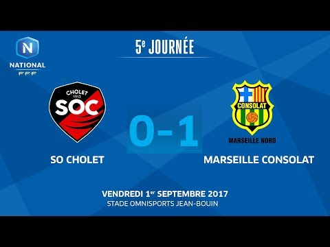 J5 : SO Cholet - GS Marseille Consolat (0-1), le replay