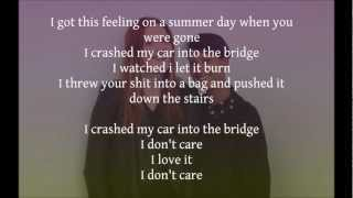 Icona Pop - I Love It (Lyrics)