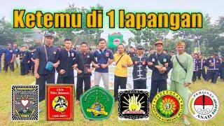 PSHT-IKSPI-PN-KM-PS ASAD-WS INDAHNYA 6 PERGURUAN BESAR DI INDONESIA BERADA DI 1LAPANGAN DESA GEBYOG
