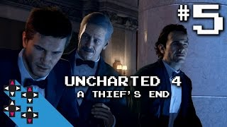 Uncharted 4 Part 5: Chapter 6 (Once a Thief) Part 1 — UpUpDownDown Streams