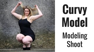 CURVY MODEL Photoshoot - 85mm lens