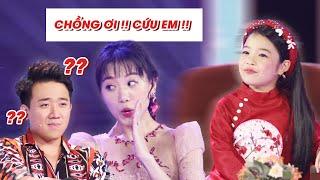 Hari Won liên tục cầu cứu TRẤN THÀNH khi đối mặt với MC Nhí Linh Chi 7 tuổi | Biệt Tài Tí Hon
