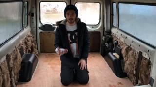 Part one of the Ford Transit Mini Bus conversion. Floor and