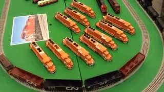 Supertrain 2015: Bowser Gmd Sd40-2s & New Gmd Announcement!