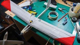 Making a mini RC airplane