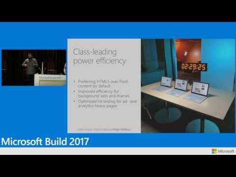 Microsoft Edge with Microsoft Fluent Design system