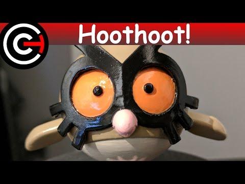 3D Printed Hoothoot